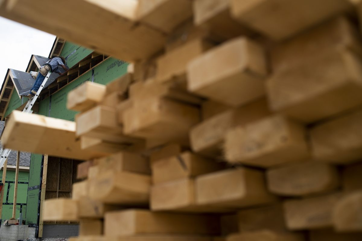 Lumber Frenzy Drives Up Home Prices as Suppliers Can't Keep Up thumbnail