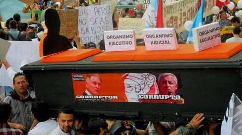 Anti-corruption protests in Guatemala