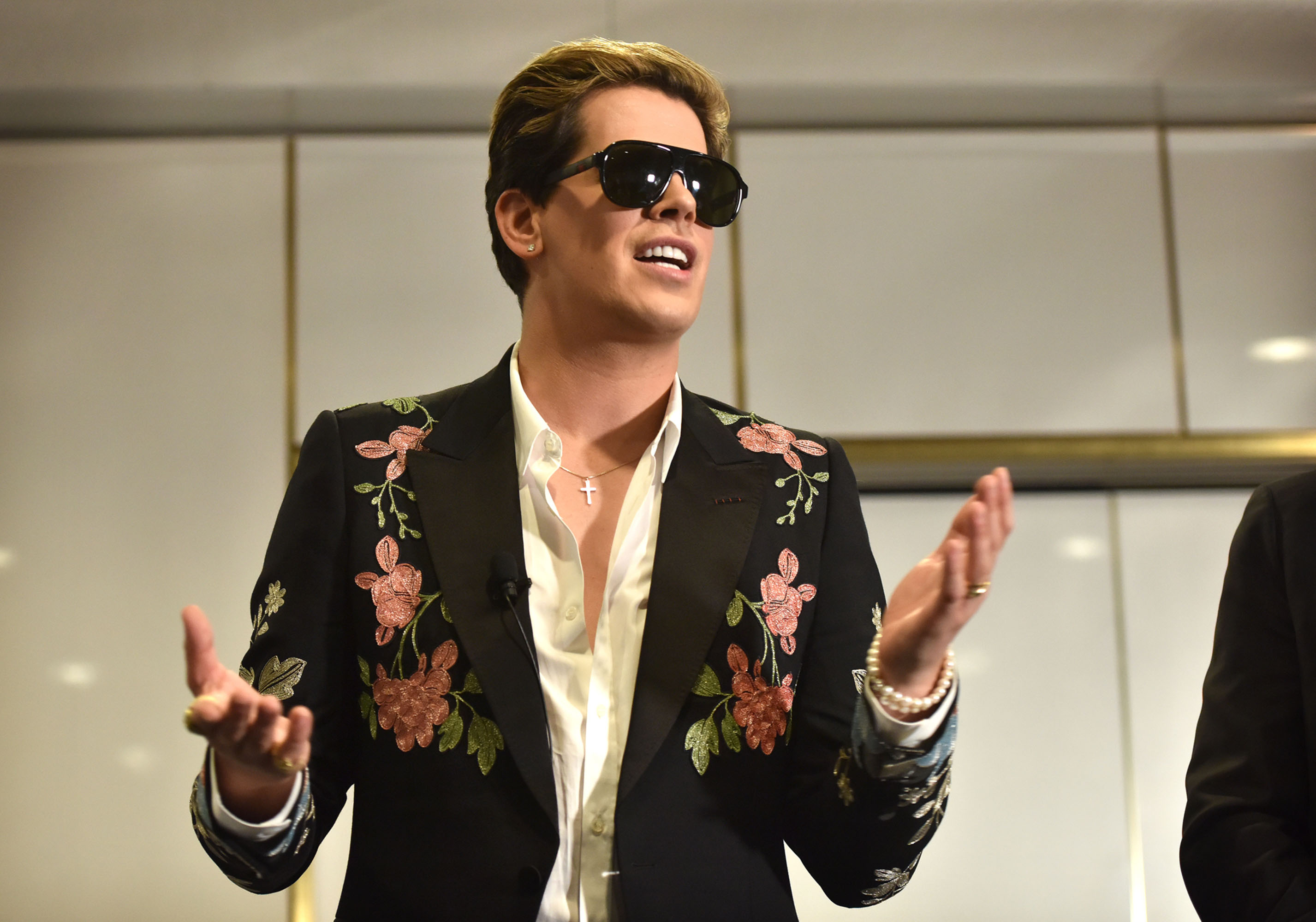 bloomberg.com - Shamim Adam - Australia Bans Milo Yiannopoulos From Touring After NZ Shooting