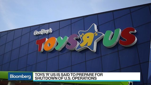 Toys-R-Us making plans to liquidate United States operations