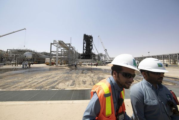 Saudi Aramco Oil Refineries Attacked by Drones