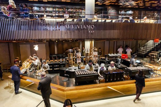 Starbucks Goes Upscale With Roastery in Wall Street's Backyard