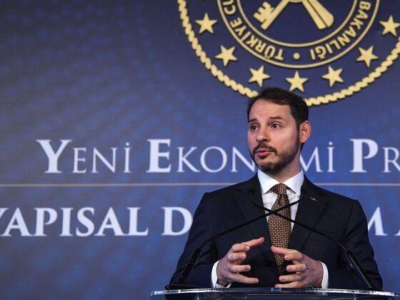 Turkey's Albayrak Holds Talks With Banks on Post-Virus Economy