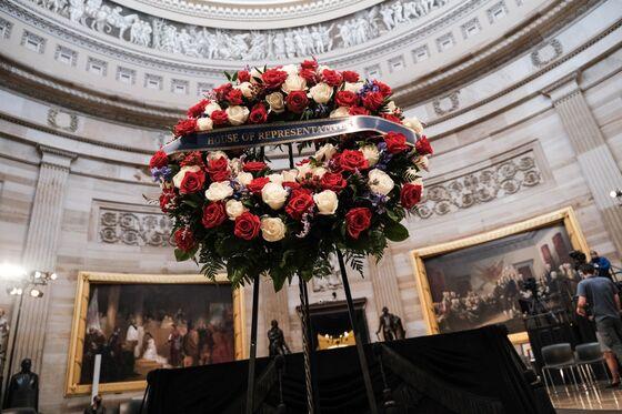 John Lewis Honored With Bipartisan Tribute at U.S. Capitol