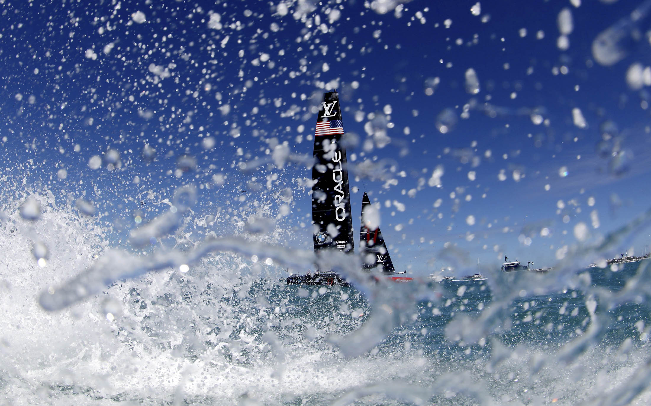 Thrills, Spills, and Royals: All the Action From the America's Cup in Bermuda