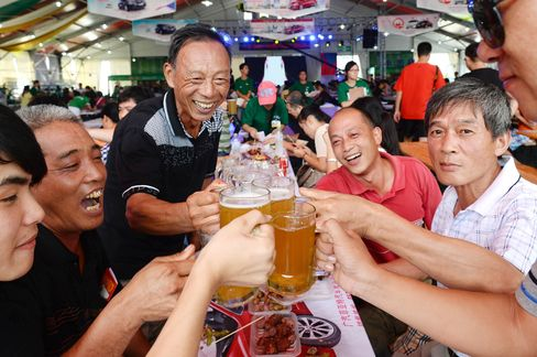 Beer Festival in China