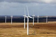 A wind farm in Scotland