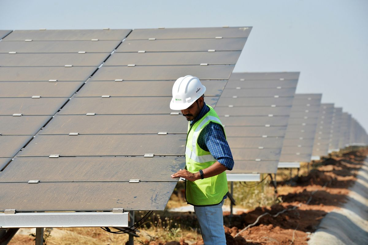 Indian Solar Tariffs Rise 4% From Record Low in Latest Auction