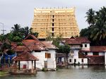 The Sree Padmanabhaswamy temple in Thiruvananthapuram, Kerala, India. In 2011 enormous quantities of antique gold coins, jewels, and statues worth billions of dollars were discovered in its 16th century vaults.