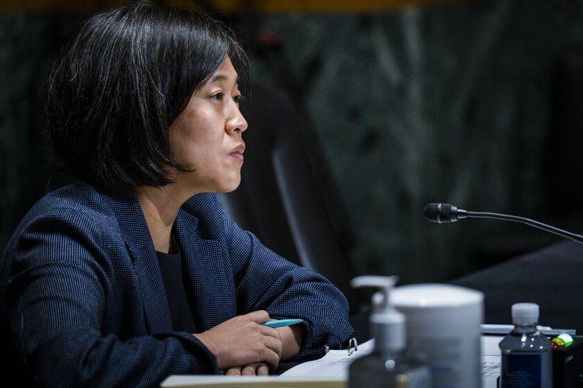 Trade Representative Tai Testifies Before Senate Finance Committee
