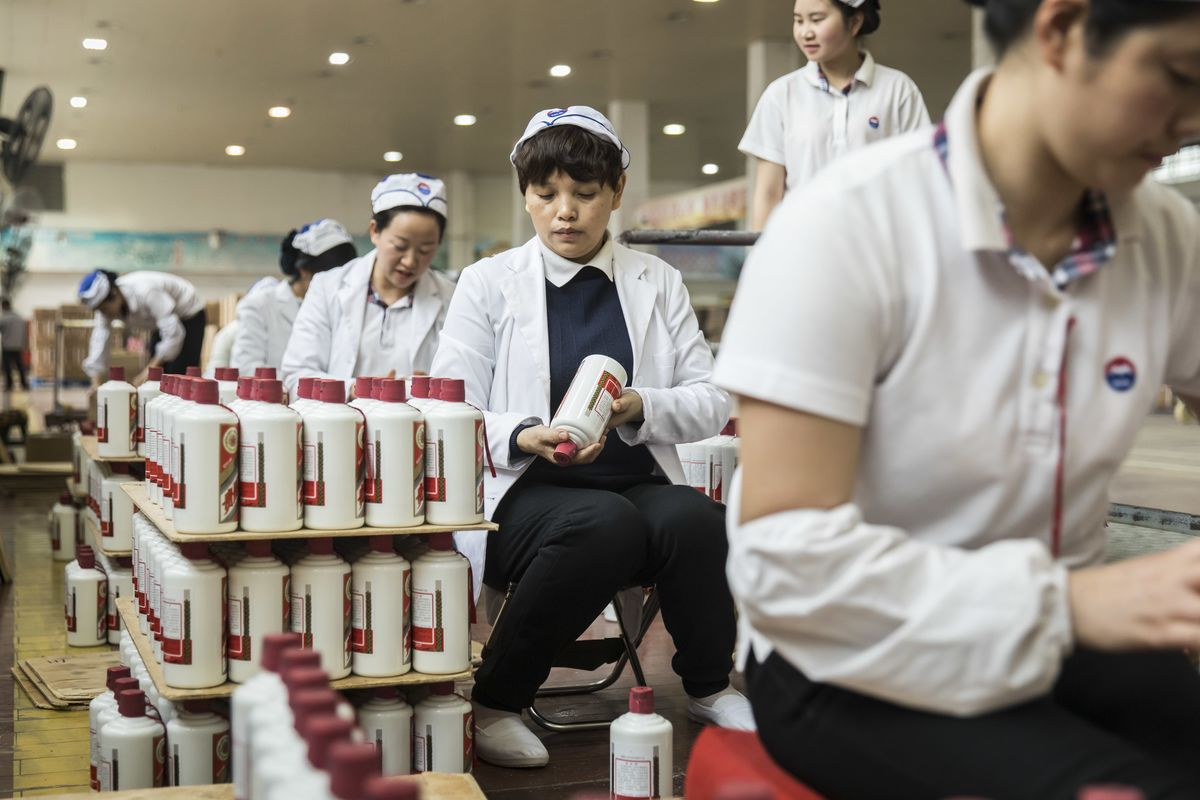 China's Moutai Soars 123% in a Year. Is a Hangover Coming?