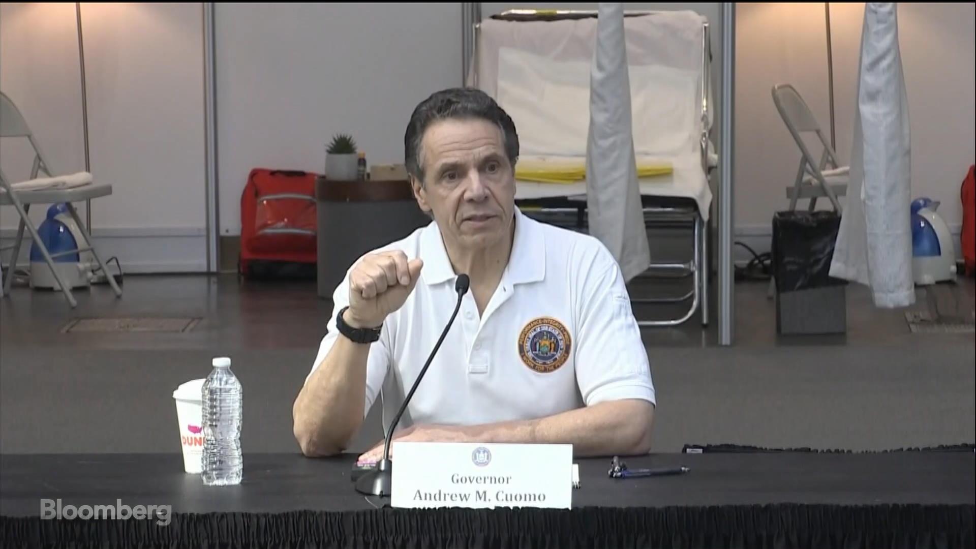 WATCH –  New York Governor Andrew Cuomo Holds Coronavirus Press Briefing, Unveils 1000 Bed Manhattan Field Hospital