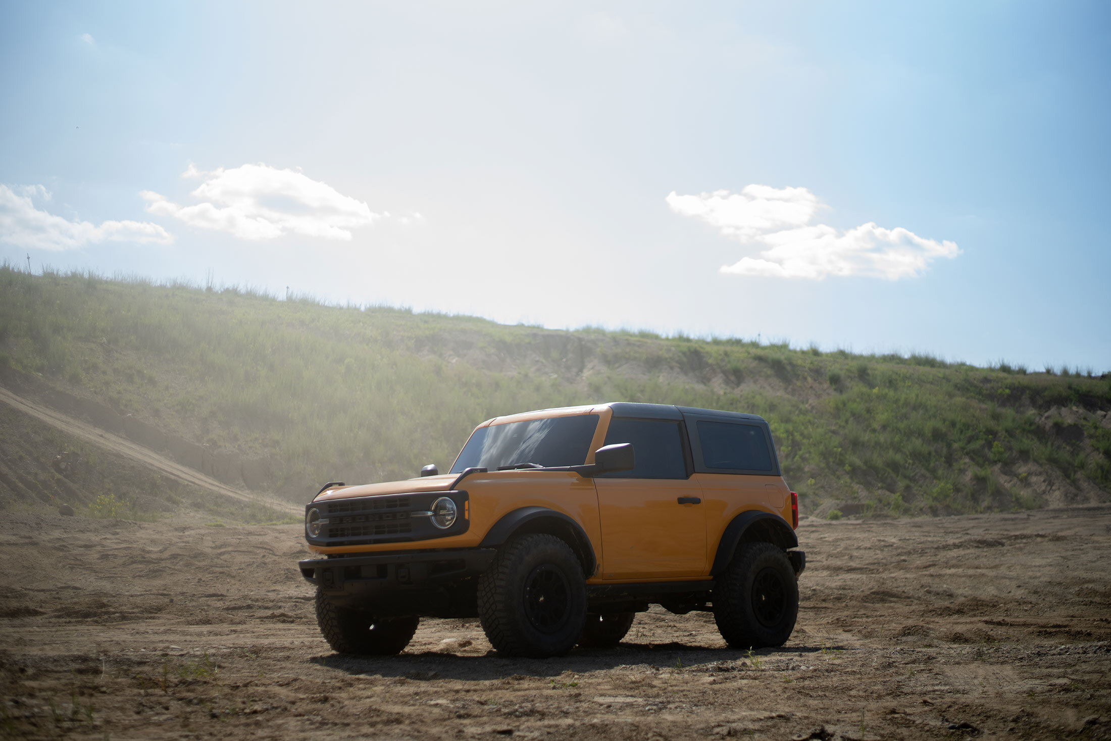 rampage movie ford truck