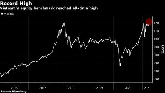 Vietnam Stocks Shoot Past Toughest Key Level to Hit Record High