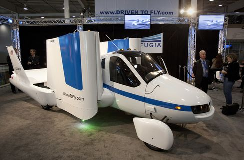 Flying Auto Reviving Dreams of Chitty Chitty Bang Bang