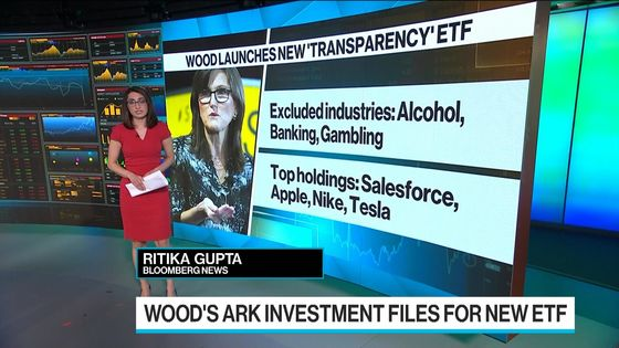 Cathie Wood's New ETF Shuts Out Banking, Fossil Fuels andVice