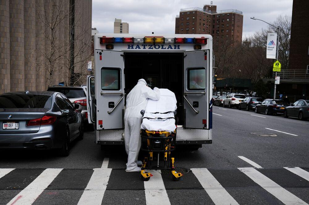 New York Coronavirus Cases Surge Past China's Hubei Province ...