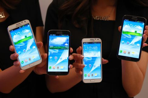 Samsung's Galaxy Note II Infringes Patents, Apple Claims
