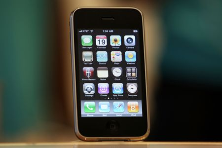 The iPhone 3GS.