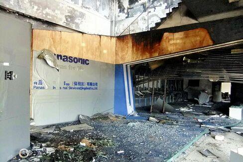 Panasonic Feels Pain of Chinese Backlash