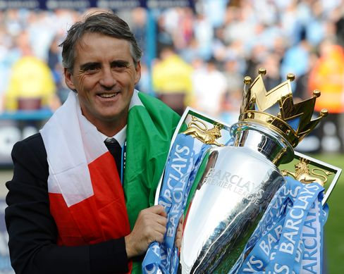 Manchester City Manager Mancini Agrees on New Five-Year Contract