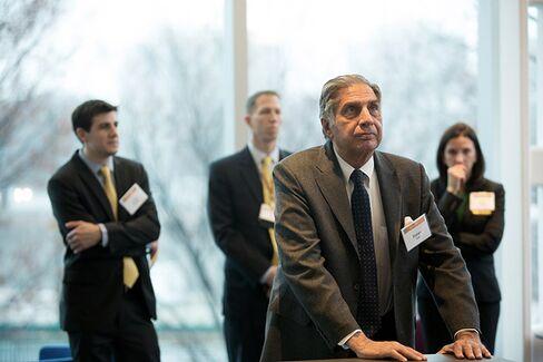 Ratan Tata Spent 13 Incredible Weeks at HBS