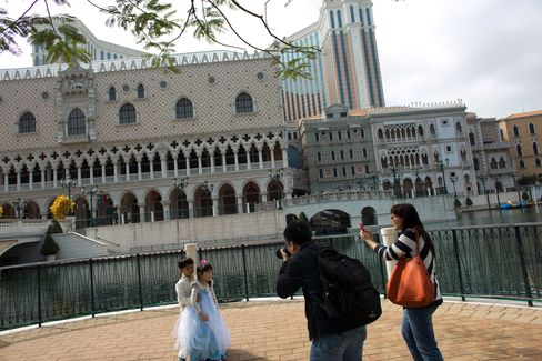 Dior to McDonald's in Macau Casinos Help Adelson Pass Ho