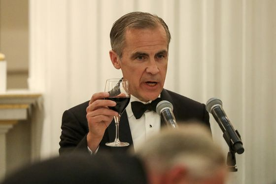 Carney's Crisis Powers Beefed Up to Give BOE $1 Trillion Arsenal