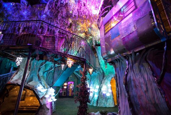 George R.R. Martin Invested in This'Immersive Art'Neon Fun House