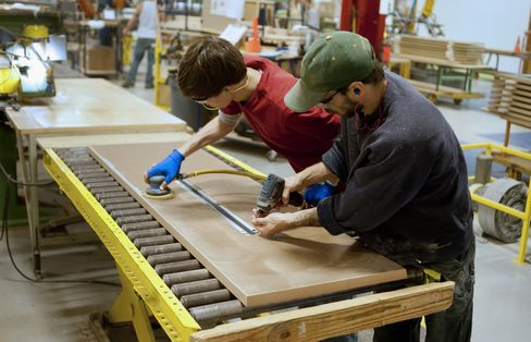 New York Area Factories Grew in March