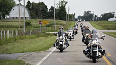 Republican Iowa Senator Joni Ernst Hosts 1st Annual Roast And Ride