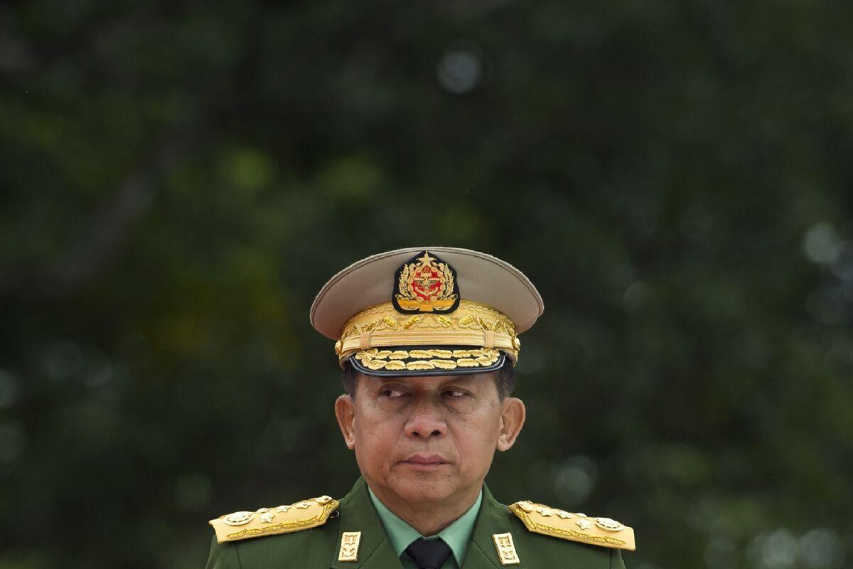 Biden Sanctions Myanmar Coup Leader's Children, Their Businesses thumbnail