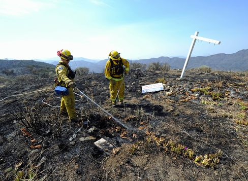 California General Says Sequestration Threatens Fire Fighting