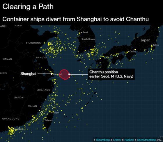 Storms From Texas to China Set to Worsen Global Ship Snarls
