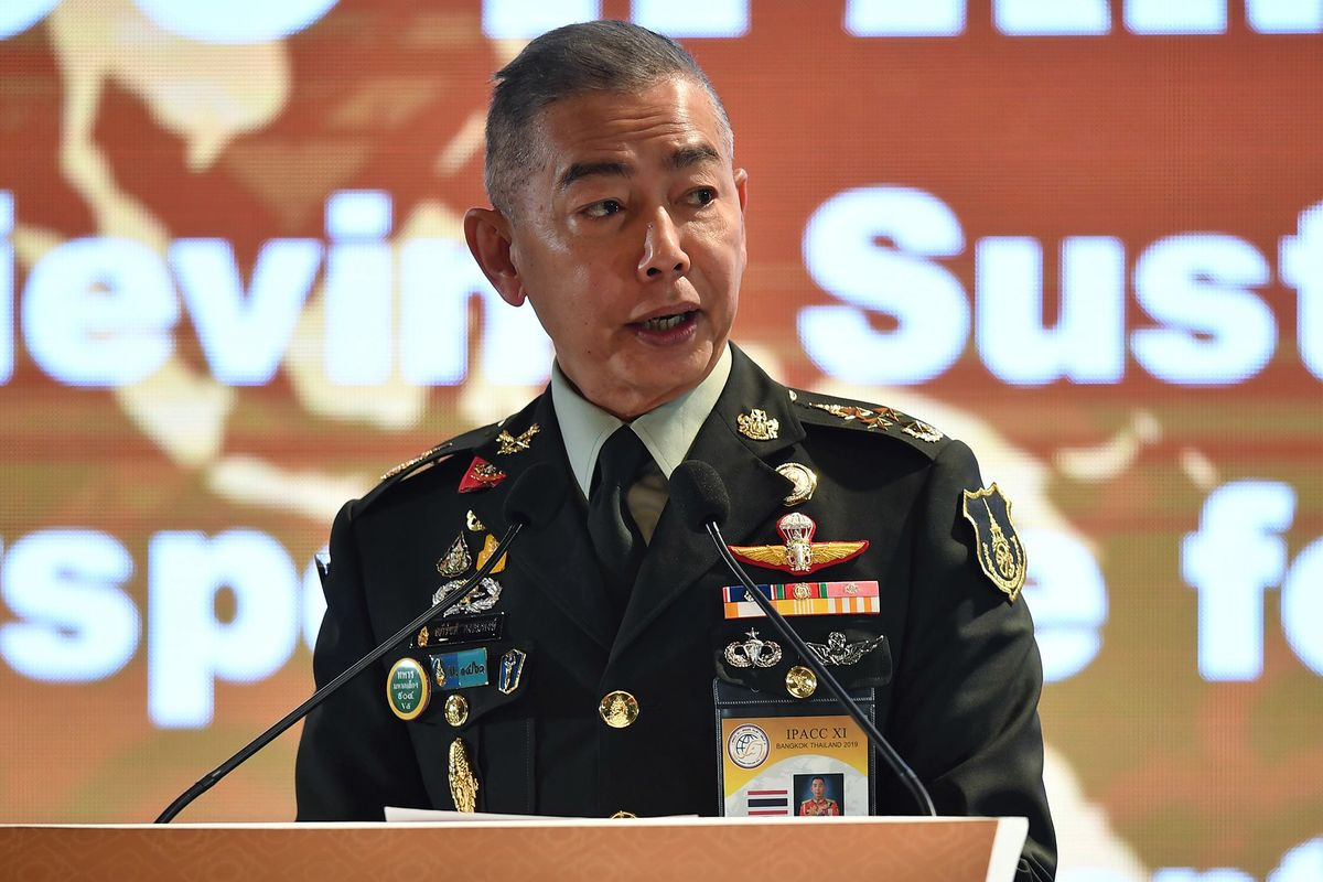 Thai Army Chief Attacks Opposition Parties in Rare Speech