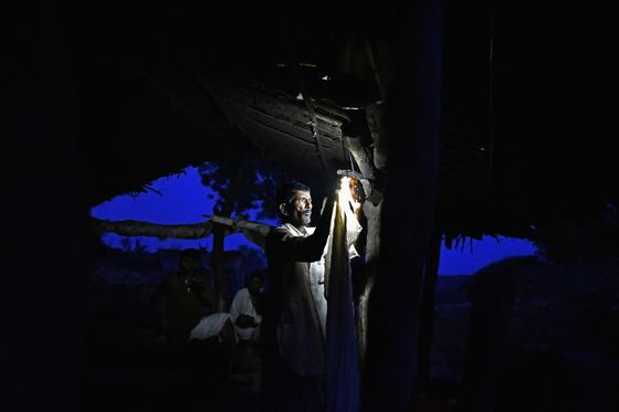 Modi Misses Power Goal With1 Million Homes Still in the Dark