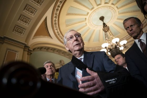 Trump's Multiple Crises Are Testing Even Mitch McConnell's Support