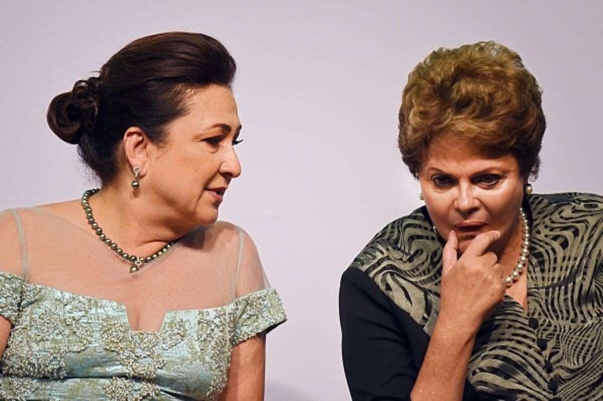 Why Brazil's Rousseff Is in Tears