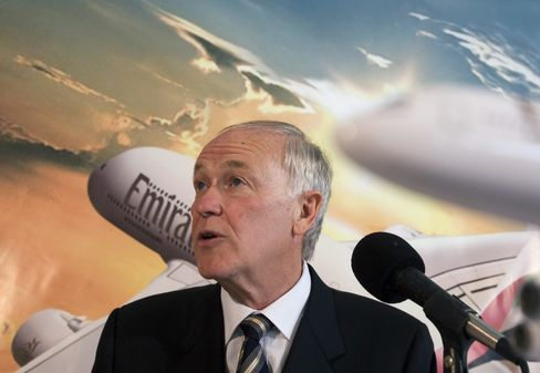 Emirates Airline President Tim Clark
