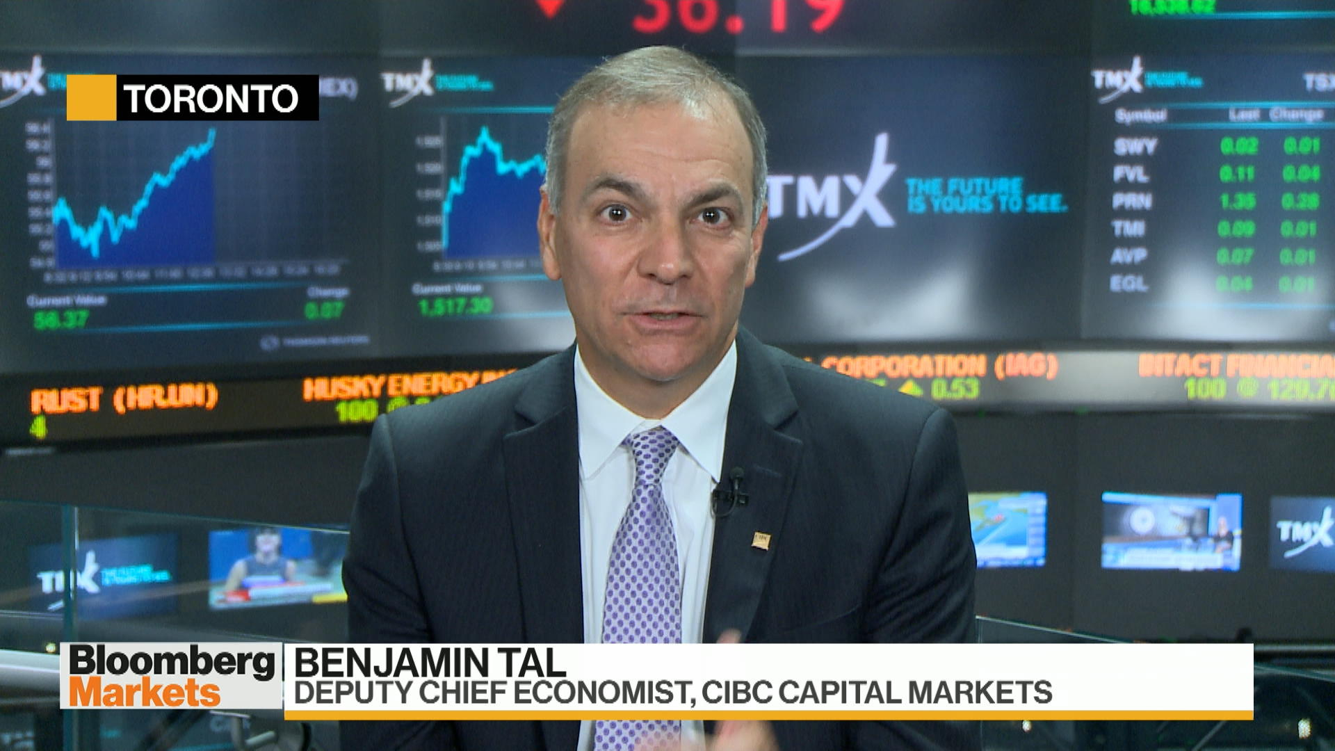 Labor Market Too Healthy for Bank of Canada to Cut, CIBC's Tal Says