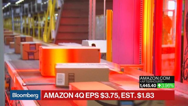 Amazon's quarterly profit tops $1B for first time