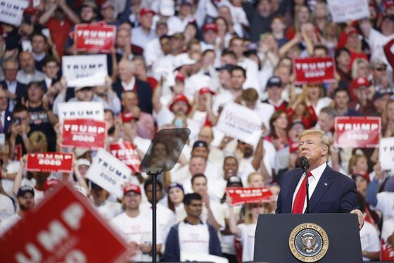 Trump Says Kentucky Vote Will Send Message on Impeachment