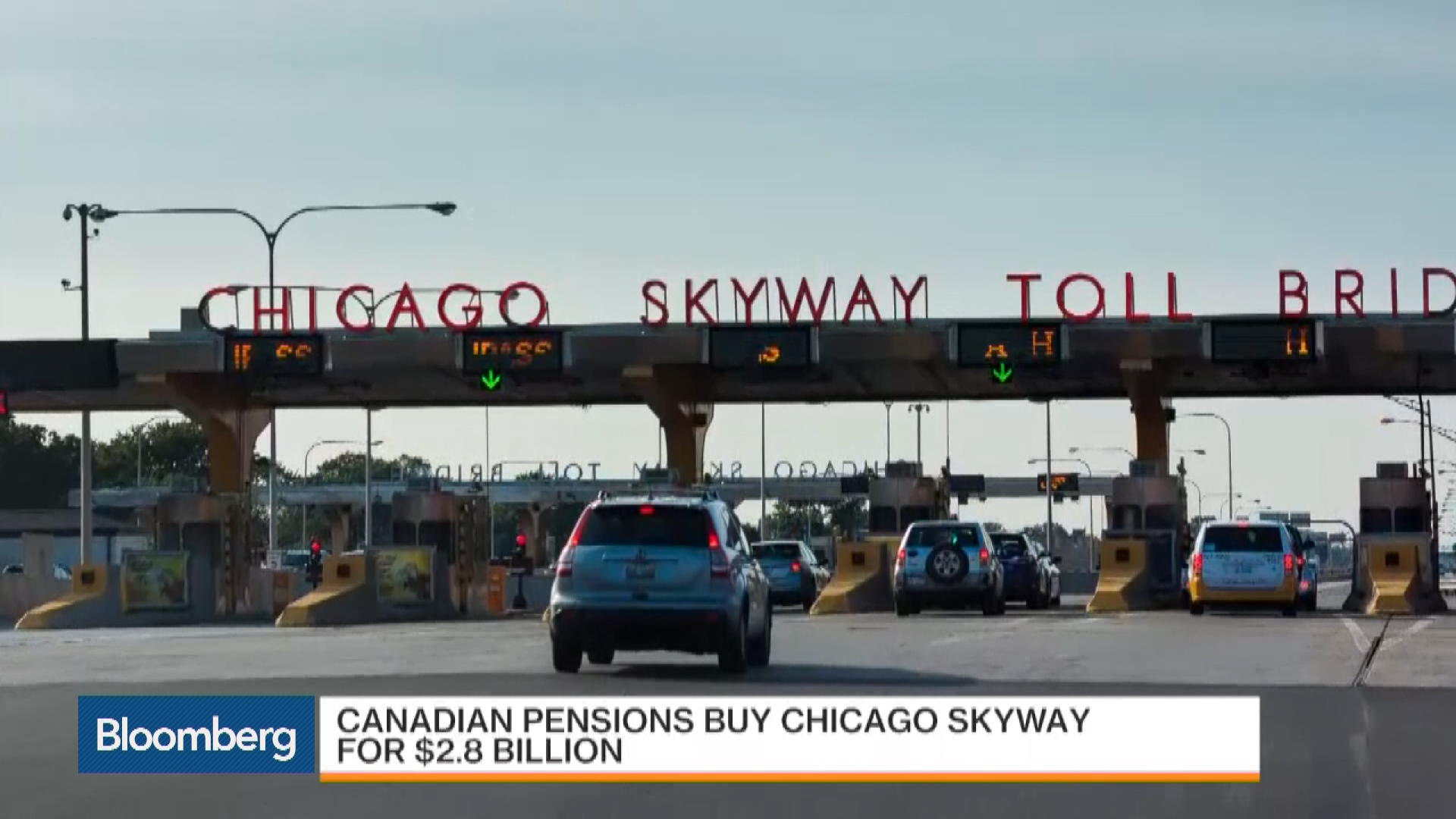Canadian Pensions Buy Chicago Skyway for $2 8B – Bloomberg