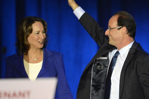 Segolene Royal And Francois Hollande
