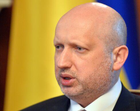 Parliamentary Speaker Oleksandr Turchynov