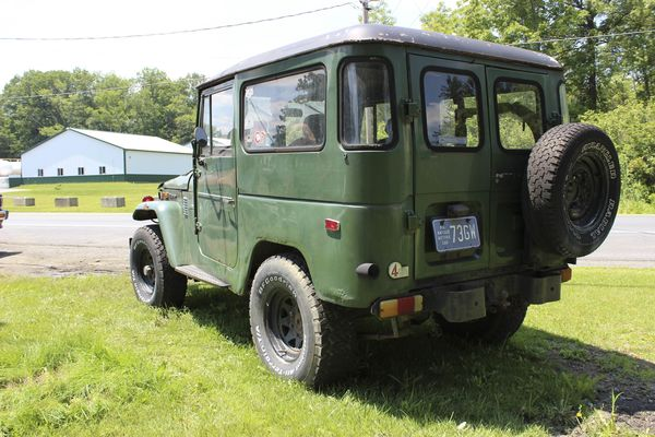 The FJ Land Cruisers Were Inspired By The Military Trucks Used During World  War II.