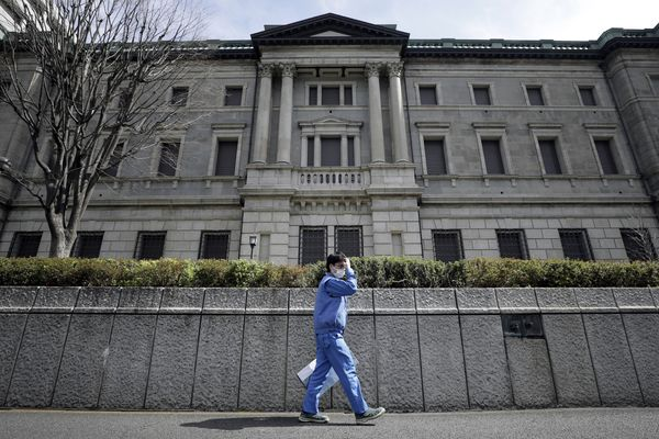 Bank of Japan Governor Haruhiko Kuroda News Conference As Central Bank Ramps Up Asset Buying, Holds Rates Steady After Fed Cut