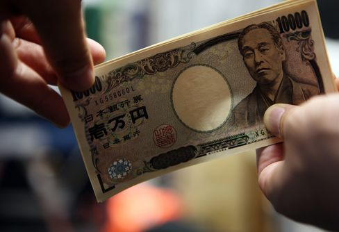 Yen Declines Versus Euro