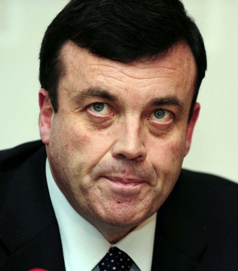 Ireland Finance Minister Brian Lenihan