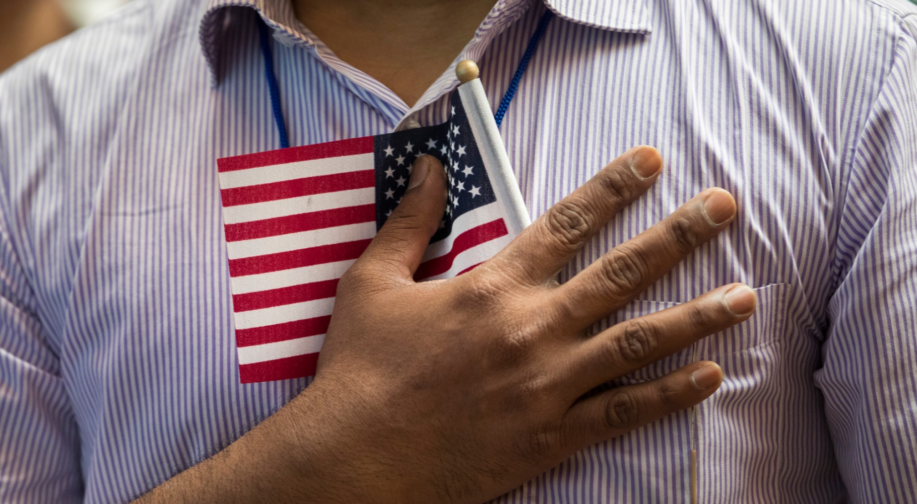 Immigrants From Over 50 Countries Become U.S. Citizens At The New York Public Library